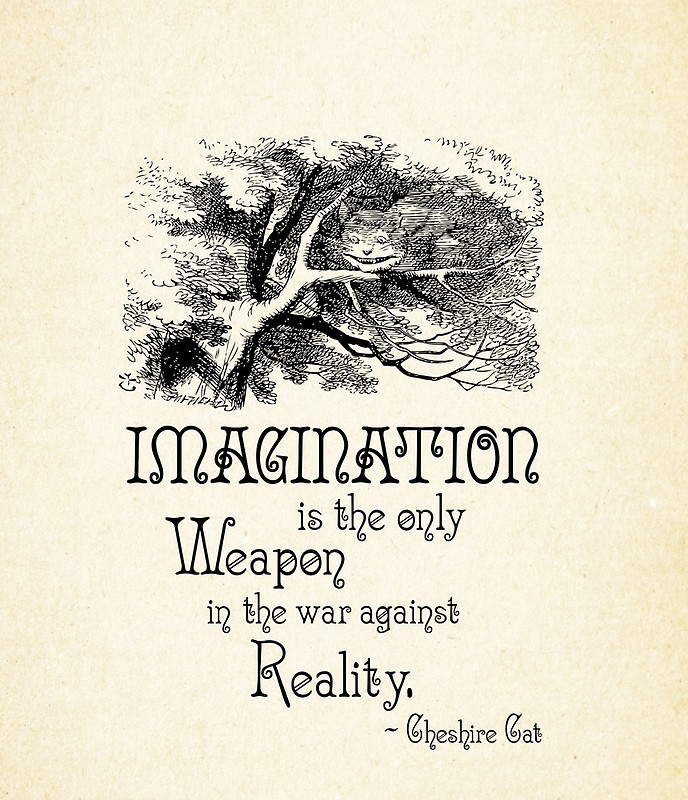 the power of imagination On imagination  what is the  'the sorcery and charm of imagination, and the power it gives to the individual to transform his world into a new world of order.