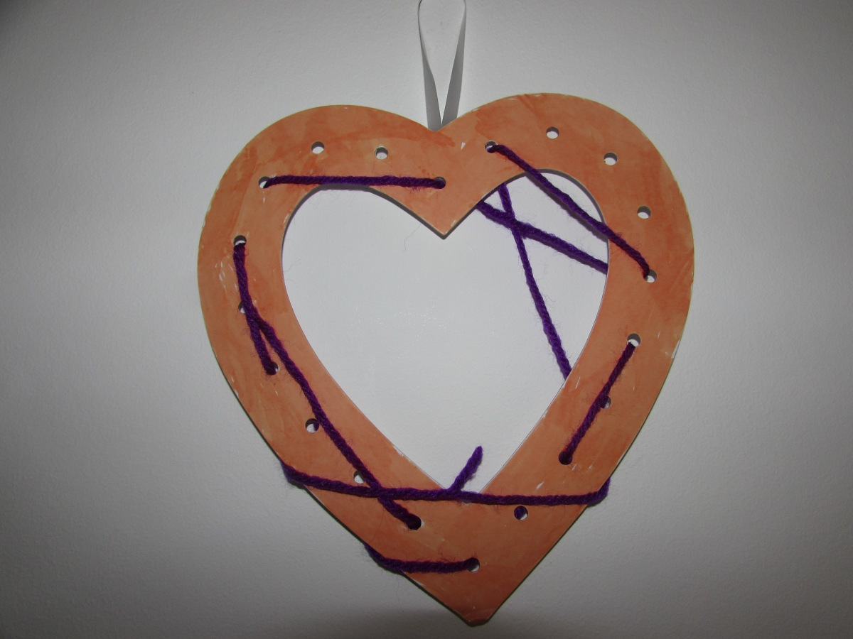 A Home Made Heart And A Thought That Counts Wonderinalexland