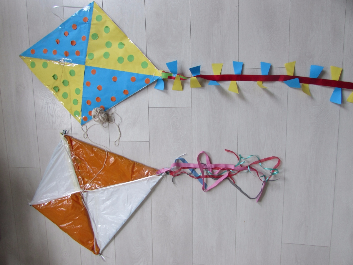 Home Made Kites Wonderinalexland